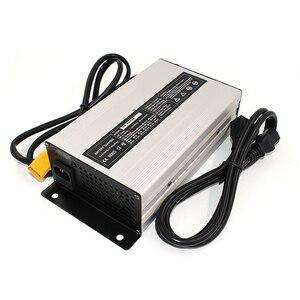 Image 3 - 37.8V 18A Charger 33.3V Li ion Battery Smart Charger Used for 9S 33.3V Lithium Battery Input 220V Aluminum case