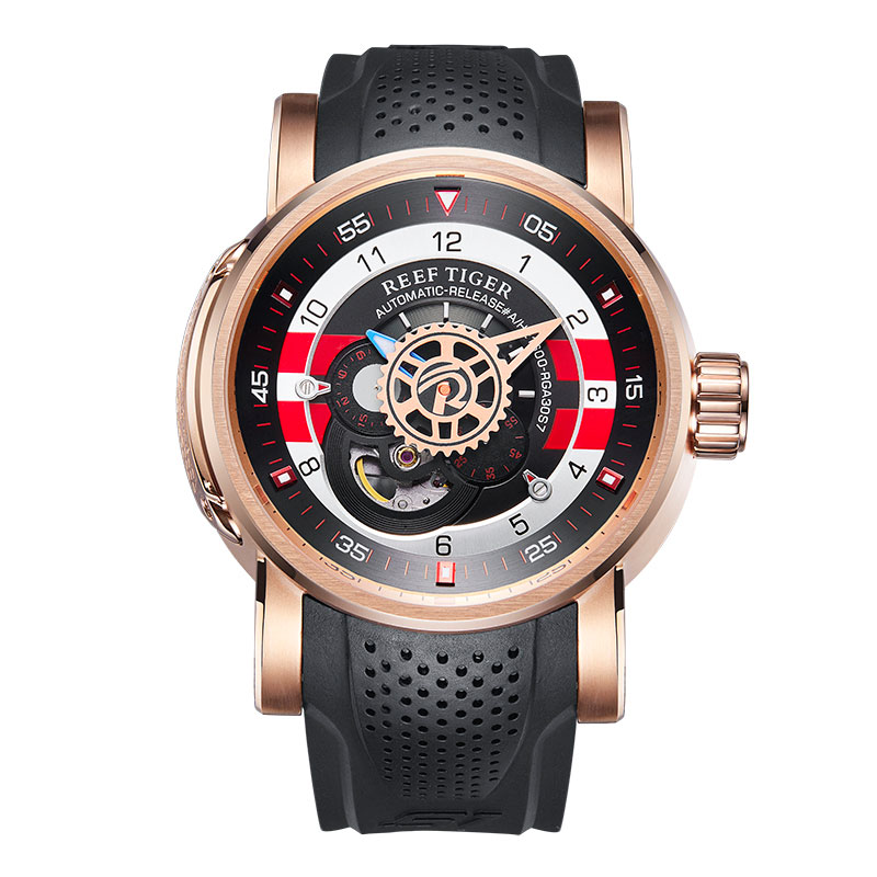 2019 Reef Tiger/RT Designer Sport Watch for Men Luxury Brand Rose Gold Watches Reloj Hombre Waterproof Automatic Watch RGA30S72019 Reef Tiger/RT Designer Sport Watch for Men Luxury Brand Rose Gold Watches Reloj Hombre Waterproof Automatic Watch RGA30S7