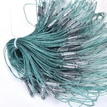 1 шт. Лидер продаж 3 слоя монофиламентная жаберная рыболовная сеть с поплавком Рыболовная Ловушка Rede De Pesca нейлоновая рыболовная сеть 25 м аксессуары инструменты