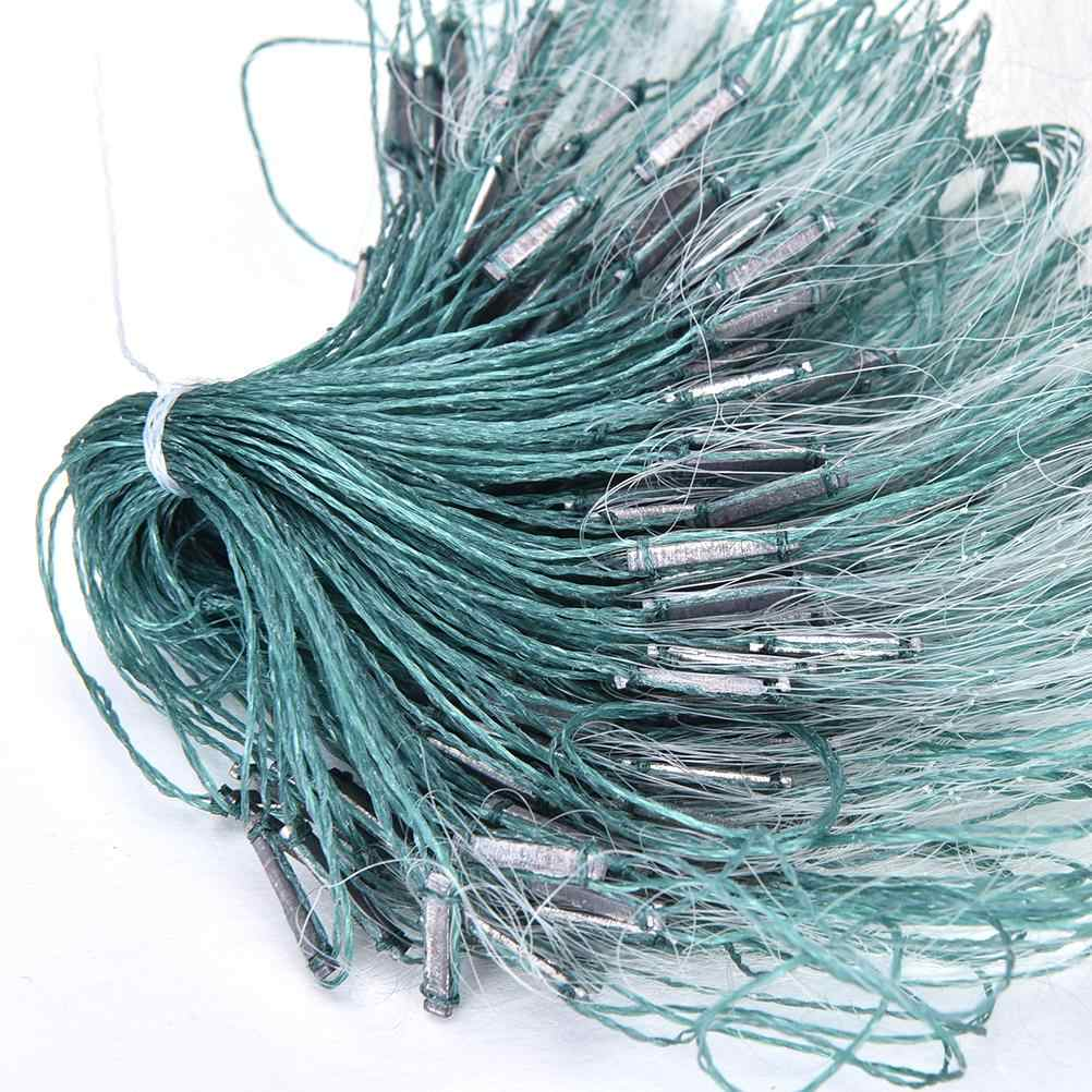 1pc Hot Sale 3 Layers Monofilament Gill Fishing Net with Float Fish Trap Rede De Pesca Nylon  Fishing Net 25m Accessory Tools