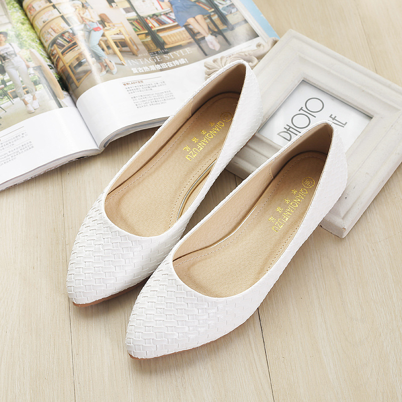 Women's Boat Shoes Ballet Flats Ladies Slip-on Casual Loafers Woman Sexy Elegant Basic Pointed Toe Party Wedding Best Sellers 4