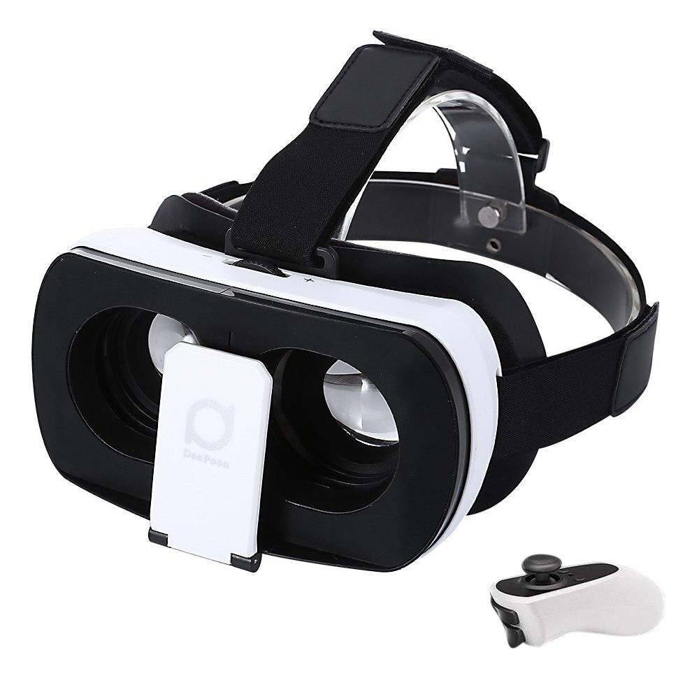 <font><b>Deepoon</b></font> V3 3D <font><b>VR</b></font> <font><b>Glasses</b></font> Virtual Reality <font><b>Glasses</b></font> 96 Degree View Angle <font><b>with</b></font> Romote <font><b>Controller</b></font>