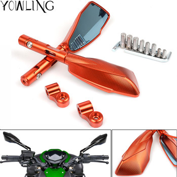Universal Motorcycle Rear View Side Mirror For KTM RC duke125 200 390 990 950 ADVENTURE 690 DUKE SMC 690 ENDURO EXC Mirrors