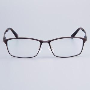 Image 4 - Модная брендовая дизайнерская деловая мужская оправа полная оправа для очков женские гидравлические оправы для очков с пружинной петлей на ножках