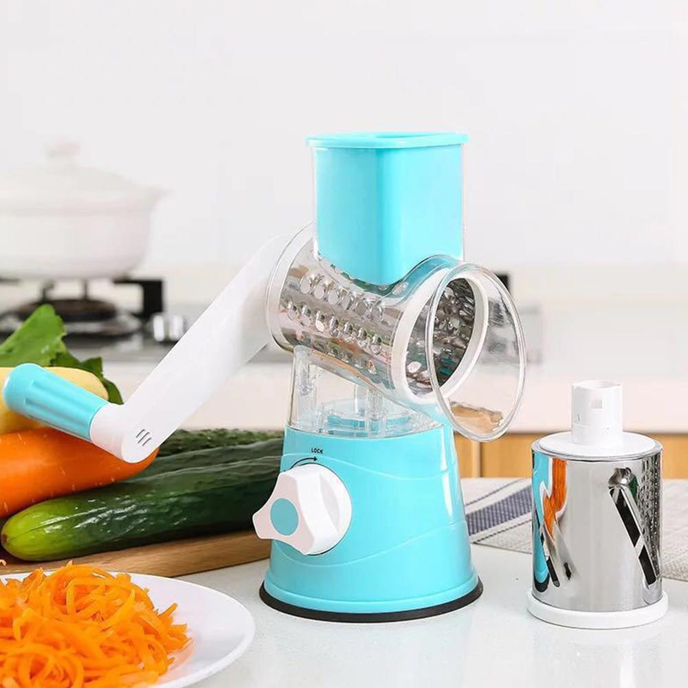 Multifunctional Vegetable Grater Chopper Spiral Slicer Hot New Multifunction Manual Kitchen Gadgets Rotating Fruit Tools