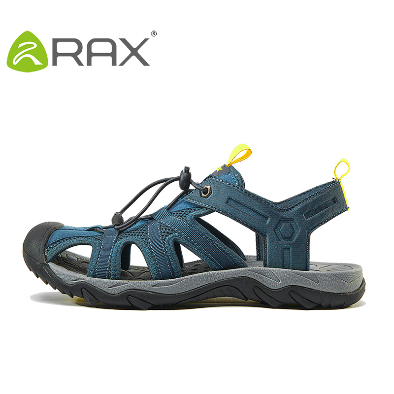 RAX Mens Hiking Shoes Sandals Breathable Summer Men Sneakers Outdoor Aqua Trekking shoes For Men Walking Moutain Hiking Sandals jialuowei 20cm ultra high heel chunky heels platform zip buckle boots women dance party over knee fetish thigh high shoes