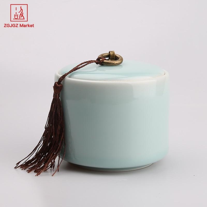 ZGJGZ High end Ceramic Storage Jars Tea Caddy Home Goods Tea Sets Tea  Storage Chests. High End Home Goods   emotibikers com