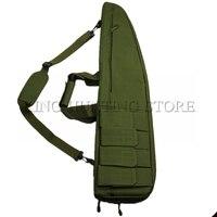 Tactical Gun Bag Shoulder Rifle Case W/ Magazine pouch Rifle gun bag Airsoft Hunting Accessories Gun Rifle Bag Army Green