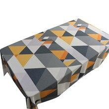 Водонепроницаемый Скандинавский современный простой стол ткань прямоугольная скатерть