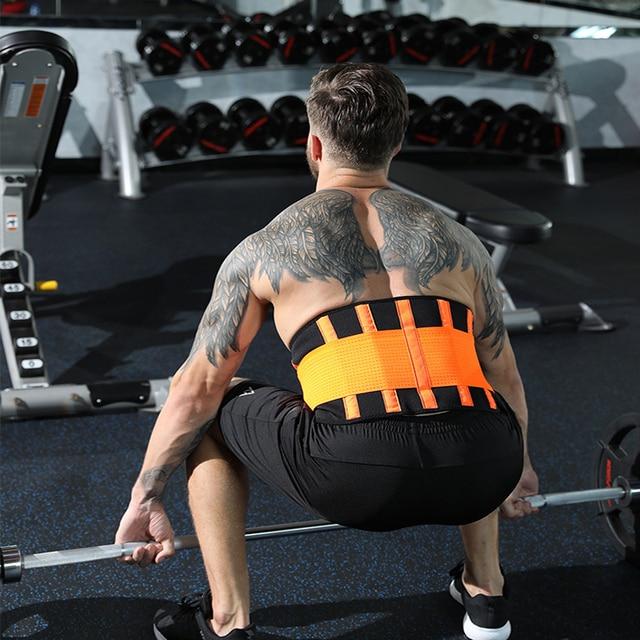 Men And Women Waist Support Belt Neoprene Plus Size Slimming Sweat Belt Women Waist Support Back Support Fitness Waist Trimmer