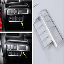Yimaautotrims Front Head Lights Headlight Switches Button Cover Trim Fit For Mitsubishi Eclipse Cross 2018 2019 Interior ABS lapetus front head lights headlamp switches button frame cover trim abs fit for hyundai kona 2018 2019 accessories interior