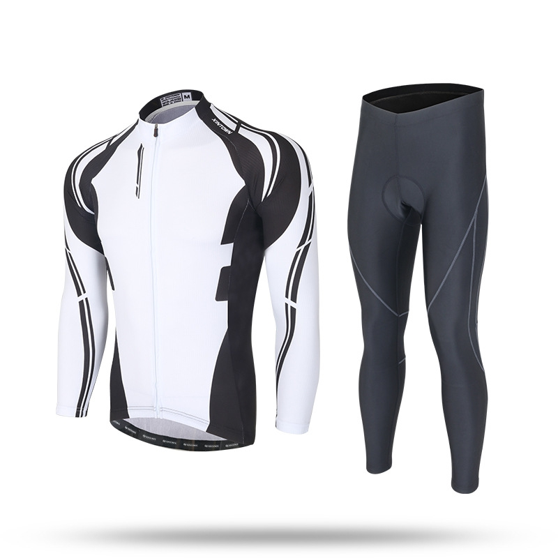 XINTOWN Autumn Winter Fleece MTB Bike Cycling Women Men Suits Sets Keep Warm Long Sleeve Bicycle Riding Jersey Bicycle Clothing