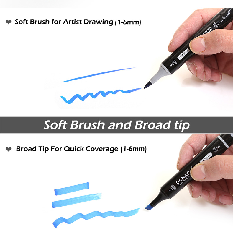 High Quality brush marker