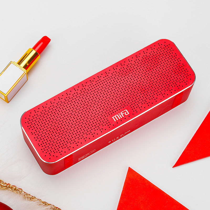 MIFA Portable Bluetooth Haut-Parleur Sans Fil Stéréo Son Boombox Haut-parleurs avec Mic Soutien TF AUX TWS - 4