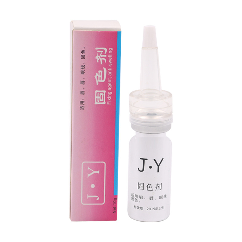2pcs Microblading Pigment Colour Fixing Agent Permanent Makeup Ink Colour Lock Assistence Liquid For Eyebrow Lips Eyeline Tattoo