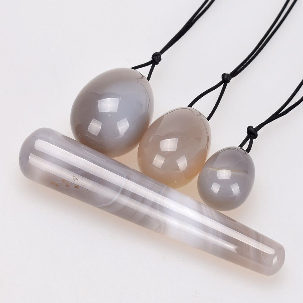 Yoni Egg Natural Carnelian Jade Eggs Crystal Massage Pleasure Wand Ben Wa Ball for Women Kegel Exercise Vaginal Muscle Tight himabm 1 pcs natural jade egg for kegel exercise pelvic floor muscles vaginal exercise yoni egg ben wa ball