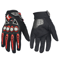 Pro Biker Outdoor Sports Racing Motorcycle Gloves Full Finger Quality Black Breathable Motorbike Motocross Protective Gear