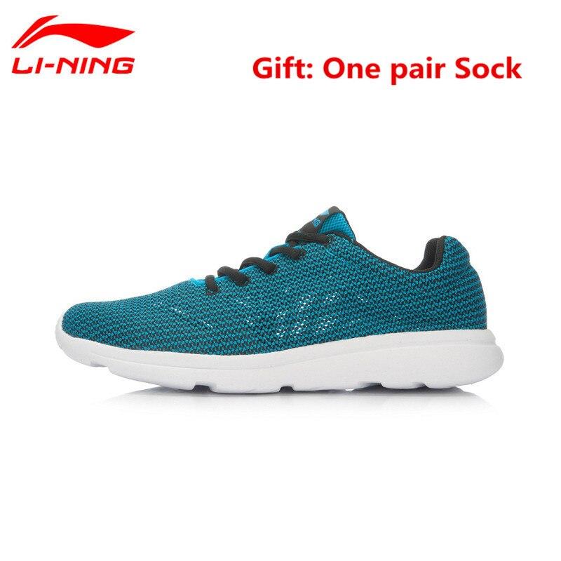 Li-ning Super Simple Zapatos Corrientes de Los Hombres de Forro Transpirable Ver