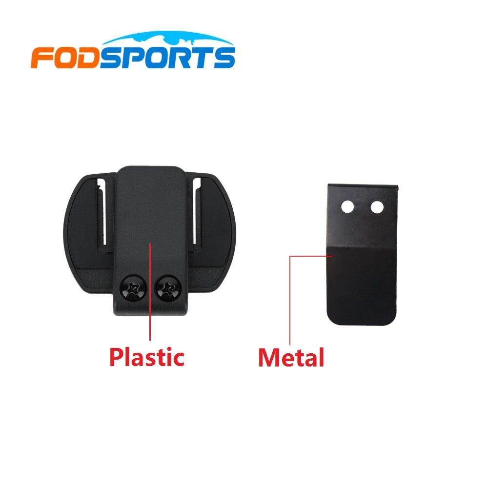 1 Pc V6 Clip Bracket Clamp Work For V6 V4 V2-500C 1200M Motorcycle Bluetooth Helmet Interphone Intercom Headset