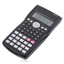 Многофункциональный 2-линия научный калькулятор ЖК-дисплей студент функция калькулятор карманный портативный счетчик