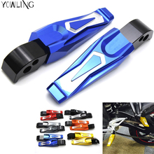good  Motorcycle Folding Rearset Foot Pegs foot pegs motorbike footrest For yamaha MT-09 MT09 2014 2015 2016
