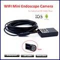 9 мм 1 М Водонепроницаемый Iphone WI-FI Эндоскопа Модуль Камеры OTG WI-FI IOS Андроид Эндоскоп Осмотр Подводной Рыбалки