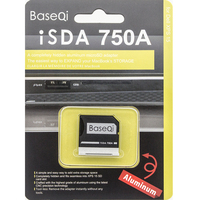 High Quality BASEQI Aluminium Card Reader Micro SD Adapter For Dell XPS 15 Model 9550