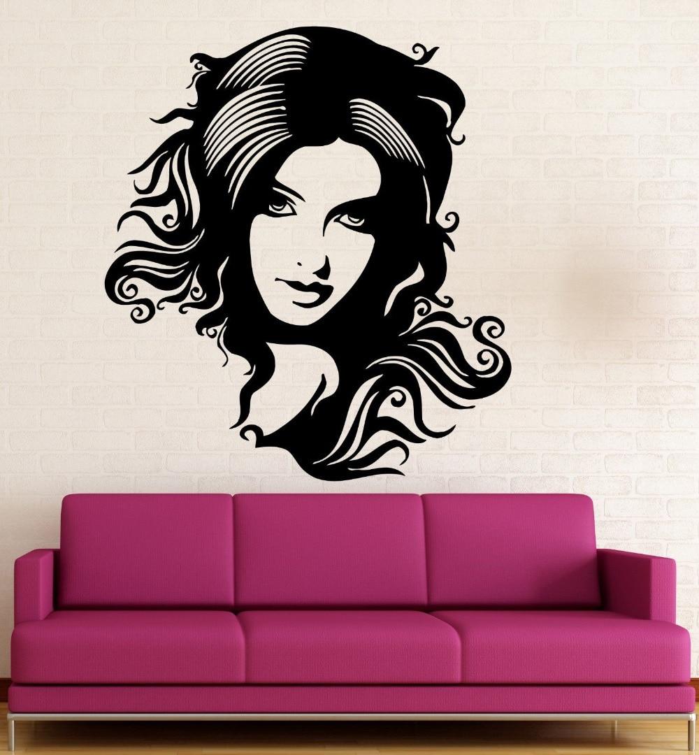 картинки рисованных дам на стену в вк