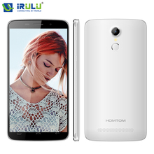 Irulu homtom ht17 pro 5,5 zoll 1280x720hd mt6737 4g fdd Android 6.0 Fingerprint Quad Core 2 GB + 16 GB 13MP Neue Smart Mobile telefon