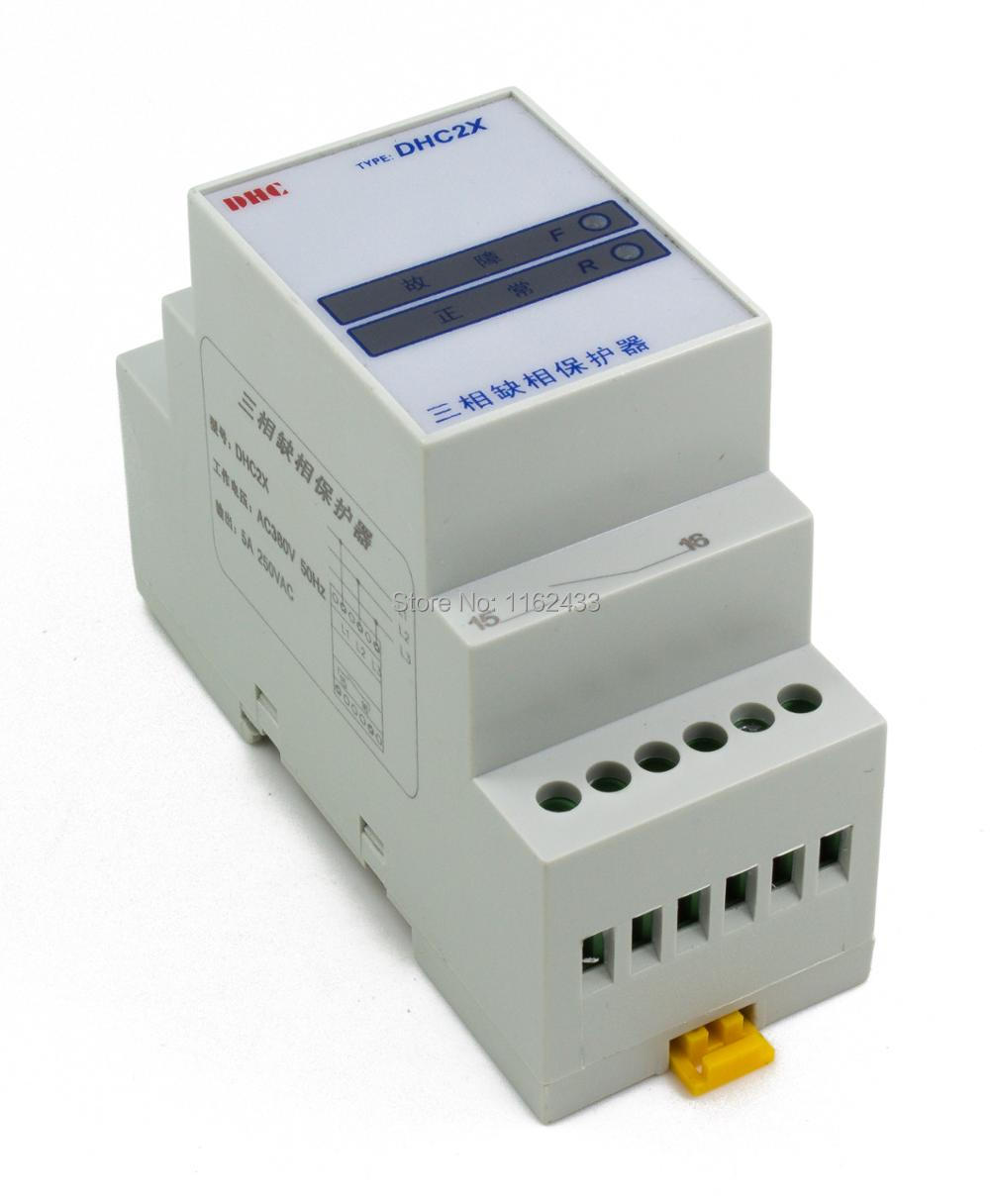Mk 06 Phase Failure Relay The Protection From Simple Diagram Dhc2x Sequence Loss Three Supply Control
