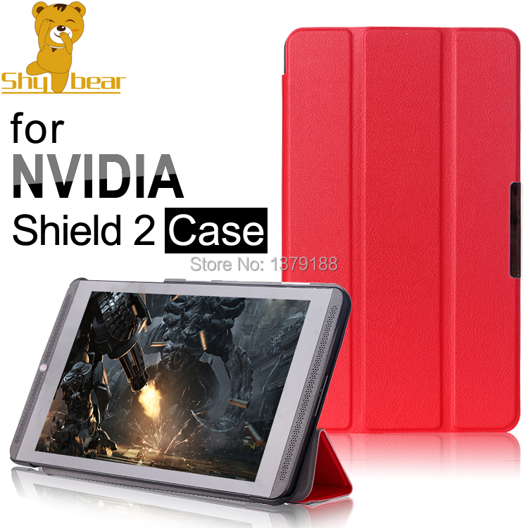 New arrival case For nvidia Shield 8 Game Tablet Leather Case cover For NVIDIA Shield 2