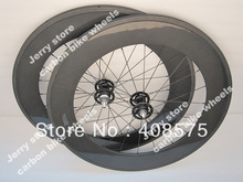 88mm tubular fixed gear carbon fiber bike wheel single speed high end track carbon cycle wheel