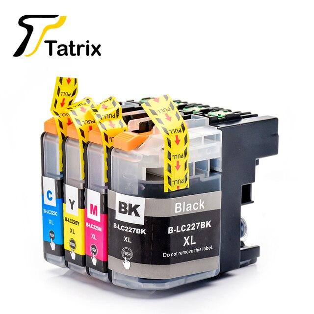 Tatrix LC227 LC225 LC227XL LC225XL フルインクカートリッジ用互換 DCP J4120DW/J4420DW/J4620DW/J4625DW/J5620DW /J5625DW