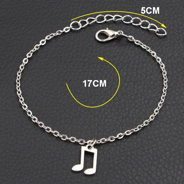 Dog Paw Heart Charms Bracelet 2