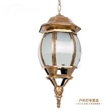 Открытый Света LED алюминиевые подвесные светильники щенок сад waterproofcorridor лампы сад вилла терраса балкон подвесные светильники ZA