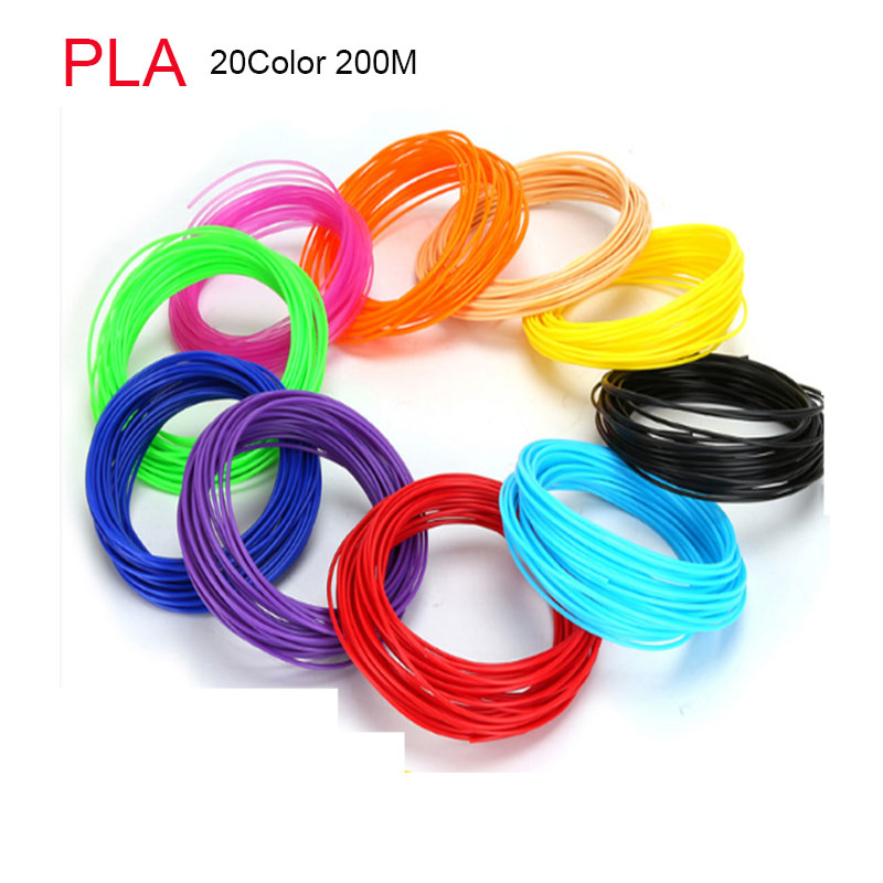 3d Pen Filament PLA 1.75mm 10 Colors 20 Colors 3D Printer