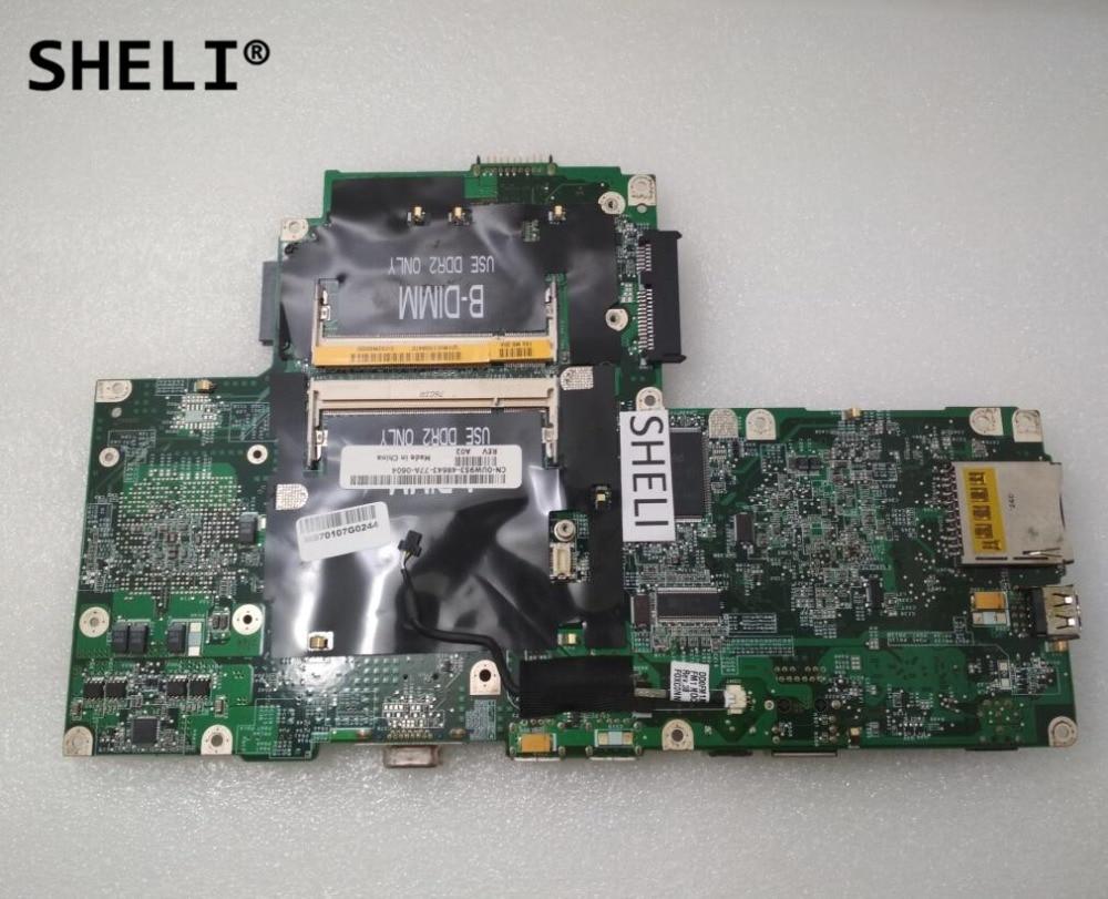 SHELI For Dell V1000 1501 Motherboard CN-0UW953 0UW953 UW953SHELI For Dell V1000 1501 Motherboard CN-0UW953 0UW953 UW953