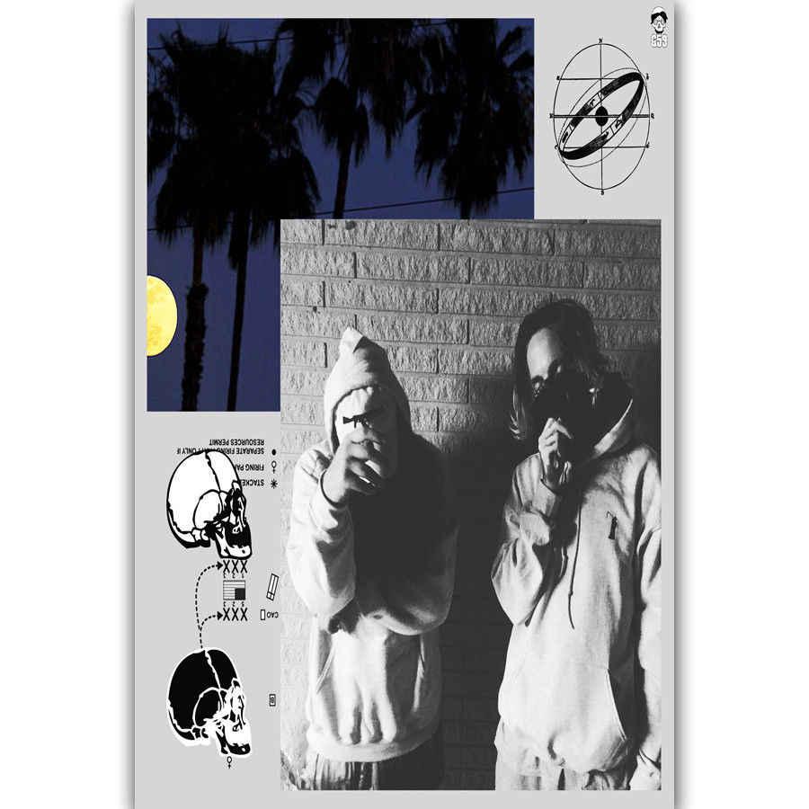 7de2ff076e98 Art Print New $Uicideboy$ Rap Hip Hop Music Custom Star 14x21 24x36 27x40  Inch