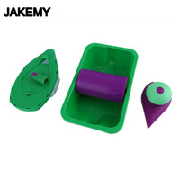 JAKEMY New Paint Roller And Tray Set Painting Brush Point N Paint Household Wall Decorative Tool