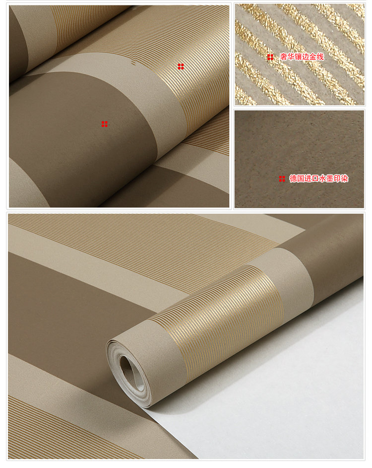 Non-woven black white silver gold glitter striped wallpaper,wall paper roll,papel de parede listrado,wallpaper plain 0 7m 8 4m luxury wall paper shining silver golden glitter non woven wallpaper rolls removable 3d panel papel de parede ab5192