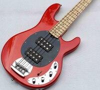 Freies verschiffen! hohe qualität 4 string e-bass, gitarre China fabrik verarbeitung maßgeschneiderte