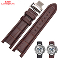 Laopijiang нотч кожаный ремешок для часов бабочки пряжки ремня кожаный ремешок часы браслет 22 X 13 мм 20 X 11 мм
