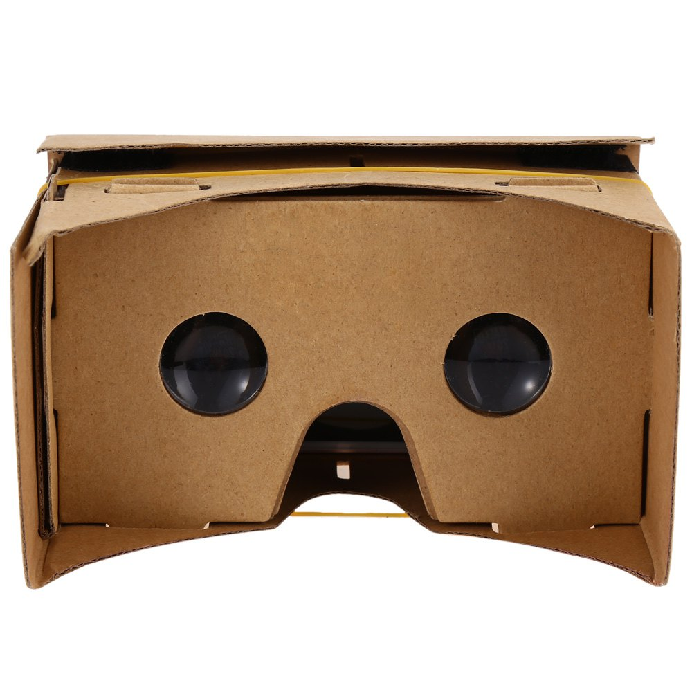 Hot DIY Magnet Google Cardboard Virtual Reality VR Box Mobile Phone font b 3D b font