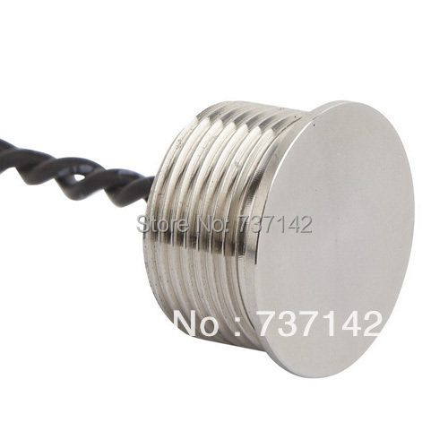 ELEWIND 16mm 316L Stainless steel piezo switch (16mm,PS161P10YSS1,Rohs,CE) elewind silver color aluminum anodized piezo push switch 19mm ps193p10ynt1b24l rohs ce