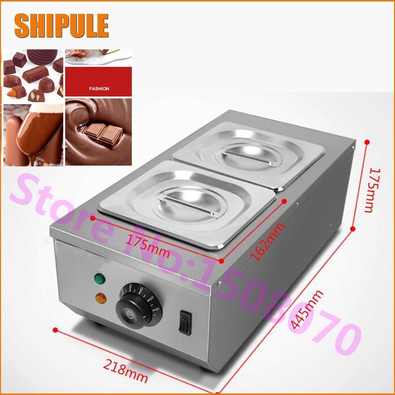 SHIPULE Dėl reklaminės elektrinės šokolado barstymo mašinos, karšto šokolado mašinos, šokolado tirpinimo mašinos