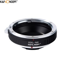 K&F CONCEPT for EOS-NX Camera Lens Adapter Ring fit For Canon EOS EF Lens On for Samsung NX Mount Camera Body