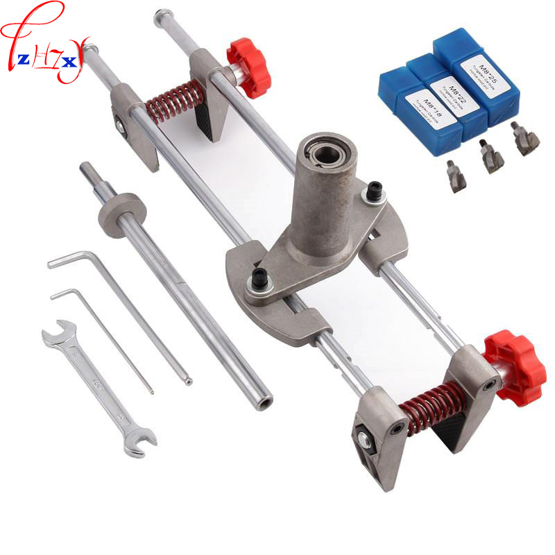 New wood door locksmith special wooden door opener hole machine rapid positioning of the board perforator 1pc [] every day special offer wooden wood self defense stick home car wooden baseball bat hard wooden club club