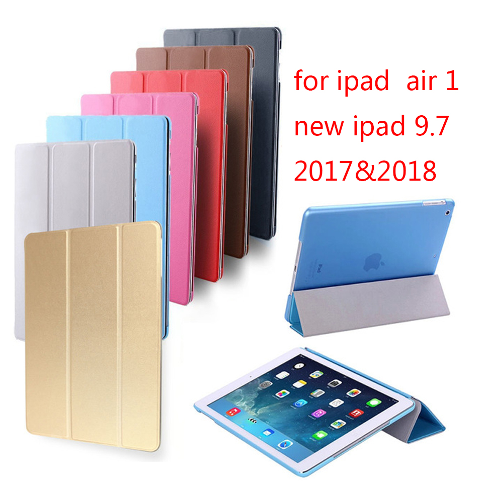 Hot sale Case for iPad Air retina cover,Ultra Slim Auto Sleep Cover also for new iPad 9.7 inch 2017&2018 Release.