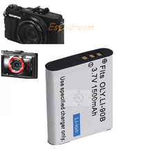 Li-90B li90b Li-92B 1500mah Camera Battery For Olympus TG4 TG3 TG2 TG1 TG3 iHS XZ2 STYLUS SH-1 PM043