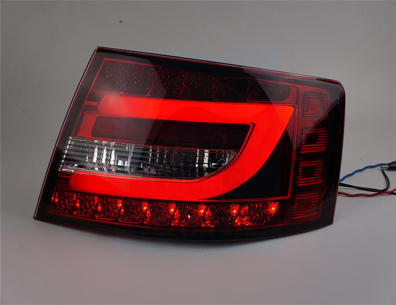 Free shipping China VLAND Car tail lamp for Audi A6L 2005 to 2008 LED tail lamp with DRL+Brake light +Reverse light ночной уход christina ночной крем muse revitalizing night cream объем 50 мл